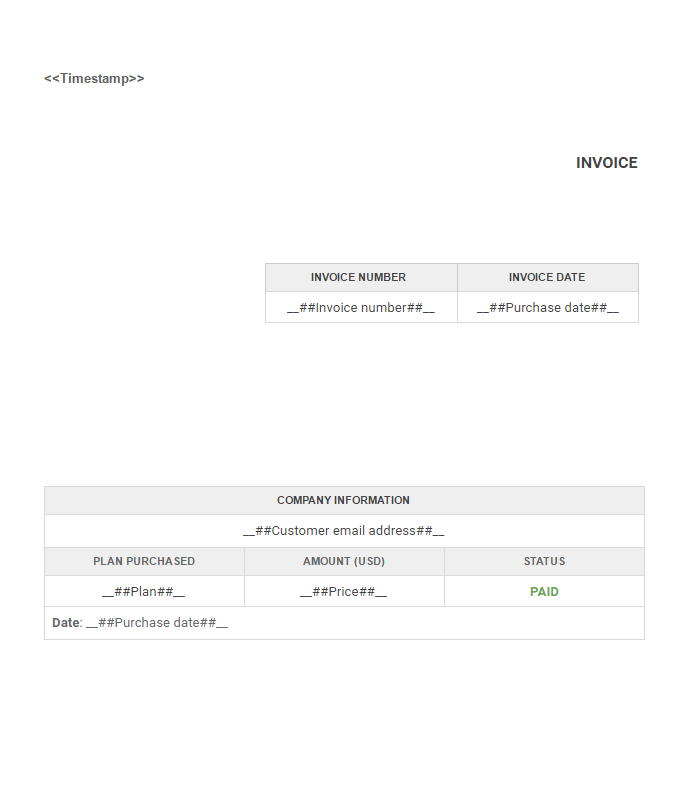 generate multiple files from different templates with one google, Invoice templates