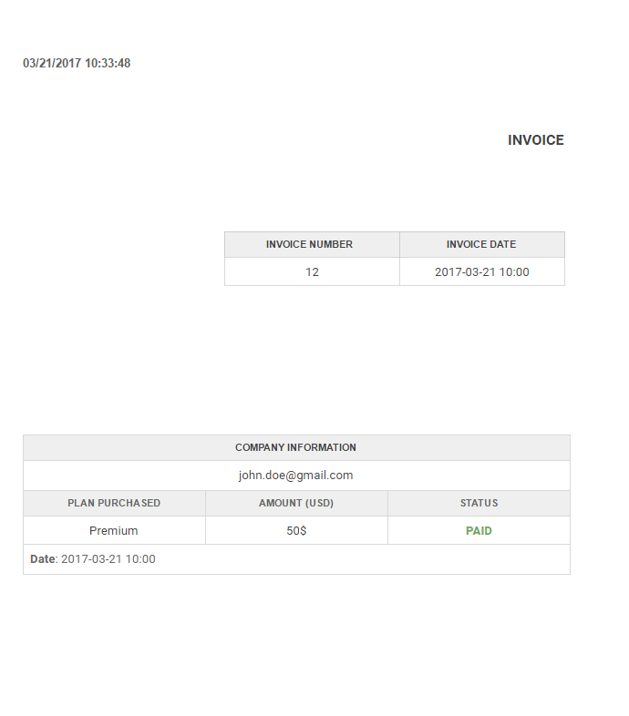 Invoice Form Publisher