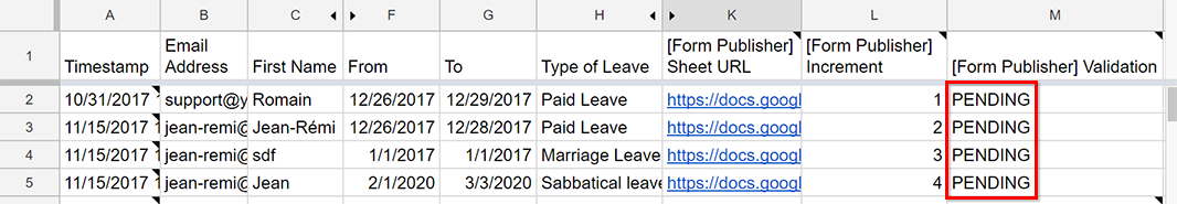 Use Case 1] HR: Approve or reject a leave request