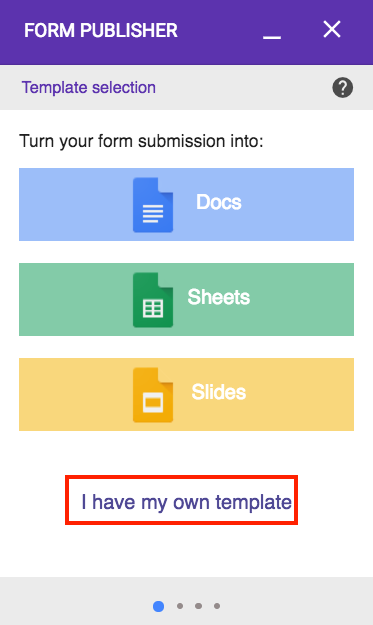 Generate multiple documents with one Google Form