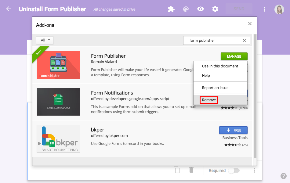 How to uninstall Form Publisher? – Documentation - Form Publisher ...
